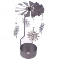 Manège à bougie Flocon de neige