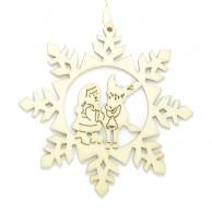 Flocon de neige Père-Noël