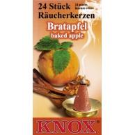 Boite de 24 cônes d'encens KNOX, pomme au four