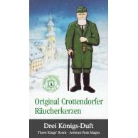 Cônes d'encens Rois Mages Crottendorfer
