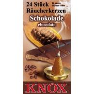Cônes d'encens Chocolat KNOX