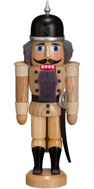 Casse-noisette Soldat bois de frêne 27cm allemand