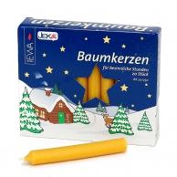 Boite de 20 bougies allemandes jaunes 13mm JEKA