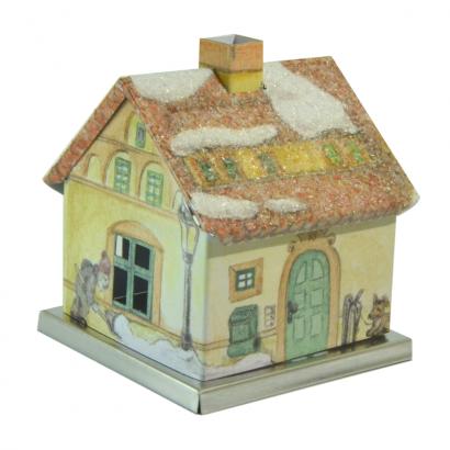Maison encensoir hivernale