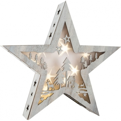 Grande lampe Étoiles 3D