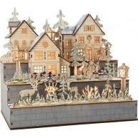 Lampe Village hivernal