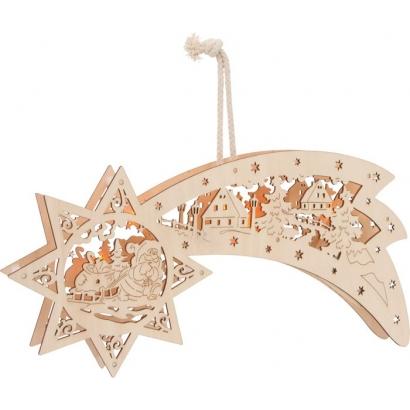 Lampe LED Étoile filante de Béthléem