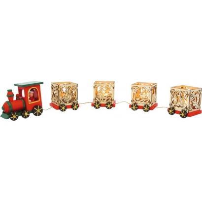 Train de décoration