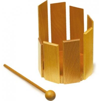 Tambour xylophone en bois