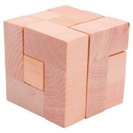 Casse-Tête Cube en bois massif