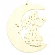 Croissant de lune Ange trompette