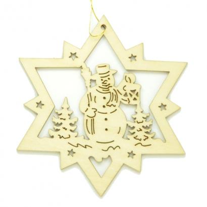Étoile Bonhomme de neige