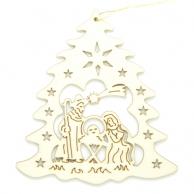 Sapin Crèche de Noël