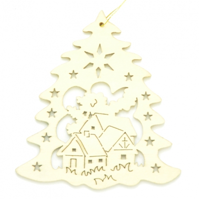 Sapin Village de Noël