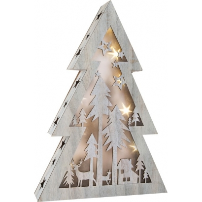 Grande lampe sapin Étoiles lumineuses 3D