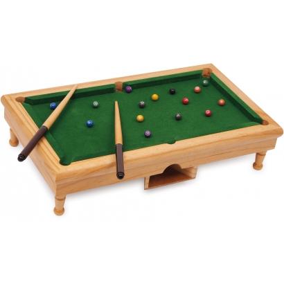 Mini billard de table en bois