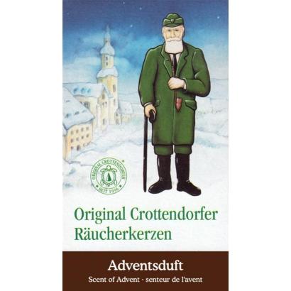 Cônes d'encens Senteur de l'Avent Crottendorfer