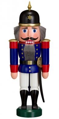 Casse-noisette Soldat bleu 27cm allemand