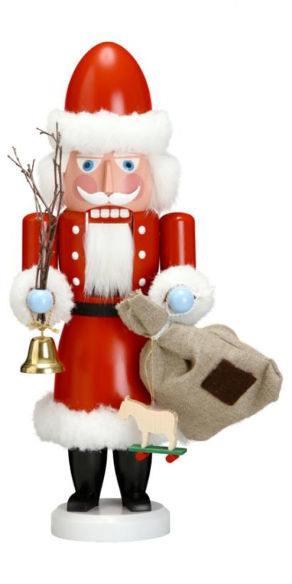 Casse-noisette Père-Noël rouge 38cm allemand