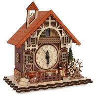 Horloge Maison à colombages