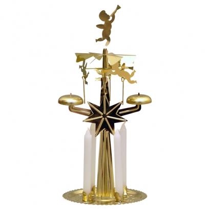 Carillon de Noël Anges 4 bougies