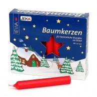 Boite de 20 bougies allemandes rouges 13mm JEKA