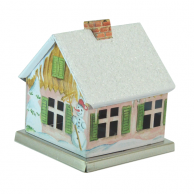 Maison encensoir Bonhomme de neige