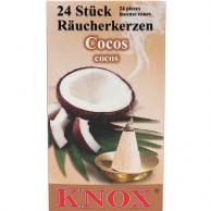 Cônes d'encens Noix de Coco KNOX